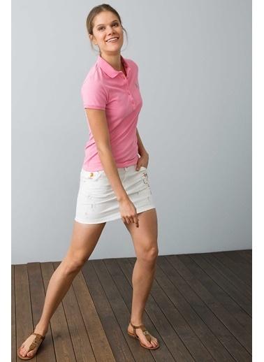 U.S. Polo Assn. Polo Yaka T-Shirt Pembe